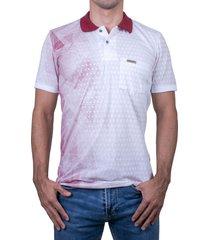 camiseta tipo polo-rojo-puntazul-41349