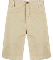 closed straight-leg chino shorts - neutrals
