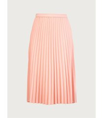 falda plisada unicolor para mujer 10177