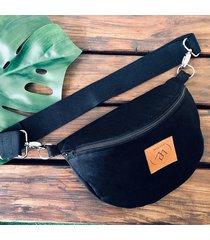 nerka / torebka mili belt bag l - czarna