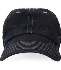 palm angels printed baseball cap