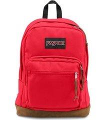 mochila jansport right pack high risk red