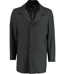 bos bright blue blue geke coat 19301ge02bo/980 antra antraciet