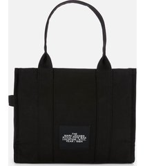 marc jacobs women's traveller tote bag - black