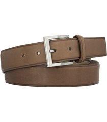 cinturón marrón briganti hombre dakar