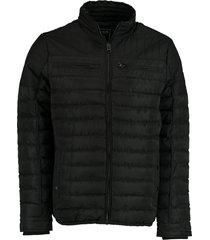cars jeans winterjas zwart regular fit 46834/01