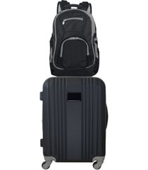 "mojo licensing 21"" carry-on hardcase spinner luggage & laptop backpack set"