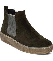 ankle boot shoes boots ankle boots ankle boots flat heel grön gabor