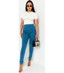 akira margot lace up skinny jeans