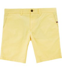 tommy hilfiger brookyln lightweight shorts - sunshine mw0mw09647