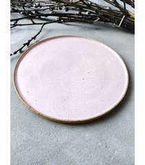 ceramiczny talerz obiadowy pastel