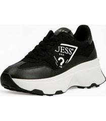 buty do biegania z trójkątnym logo model calebb