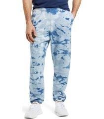 men's groceries apparel men's jogger pajama pants, size x-large - blue