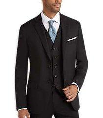 joseph abboud charcoal gray slim fit suit separates coat
