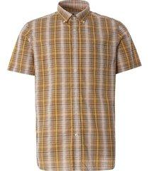 carmet overhemd met korte mouwen