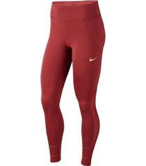 pantalón legging fast nike rojo