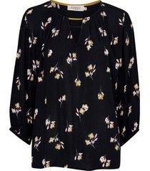blus sloane blouse 3/4
