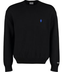 marcelo burlon long sleeve crew-neck sweater