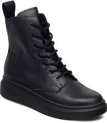svea sneaker boots shoes boots ankle boots ankle boot - flat svart svea