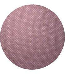 sousplat d'rossi para prato suporte de mesa decorativo rose poá 30 cm