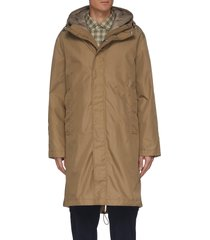'alvin st versa' detachable down inner-layer coat