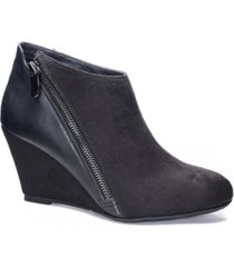 cl by chinese laundry women's viola wedge ankle booties women's shoes