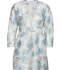 allydia korte jurk blauw baum und pferdgarten