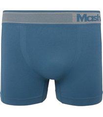 cueca boxer mash logo azul
