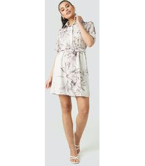 trendyol yol linking detailed dress - multicolor