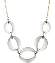 women's alexis bittar essentials large lucite link necklace