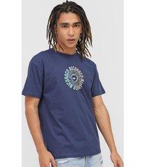 camiseta nicoboco espanha azul-marinho
