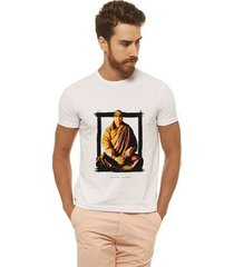 camiseta joss - quadro meditação - masculina