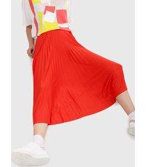 falda rojo-negro lacoste