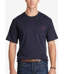 polo ralph lauren men's big and tall pocket cotton t-shirt