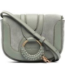 see by chloé mini hana crossbody bag - green