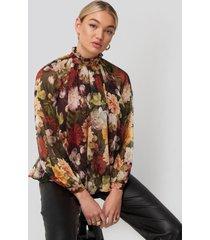 ida sjöstedt phoebe blouse - multicolor
