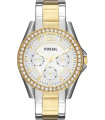 reloj fashion multicolor fossil