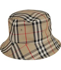 burberry panel bucket hat