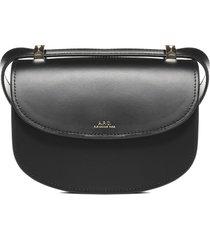 a.p.c. geneve mini leather shoulder bag