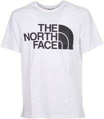 eenvoudig t-shirt met logoprint
