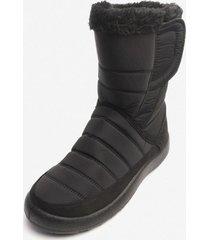 bota quebec black chancleta