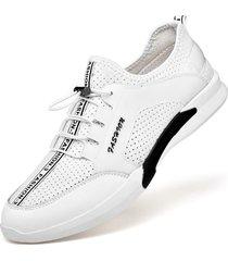 scarpe da ginnastica casual da uomo traspiranti con lacci