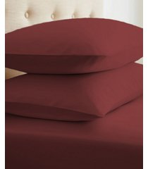 home collection premium ultra soft 2 piece pillow case set, standard bedding