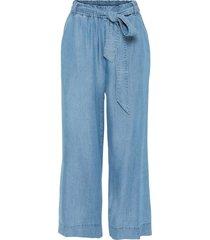 pantaloni culotte in tencel (blu) - bodyflirt