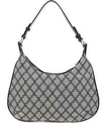 bolso gris-negro mng