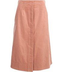 ps by paul smith velvet longuette skirt