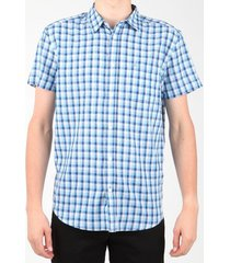 overhemd korte mouw wrangler s/s 1 pkt shirt w5860lirq