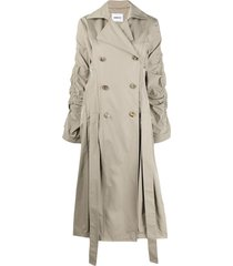 ambush long coat winter twig - neutrals