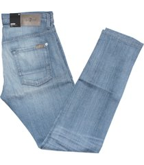 7 for all mankind men's stretch selvedge paxtyn skinny jeans, genesis