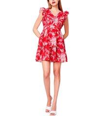 betsey johnson bush garden cotton seersucker dress